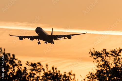 Landung bei Morgenrot Poster