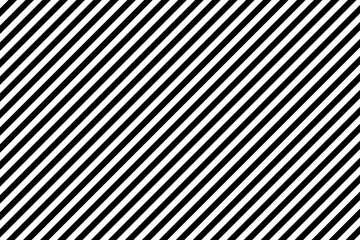 Stripes diagonal pattern. White on black. Vector illustration.