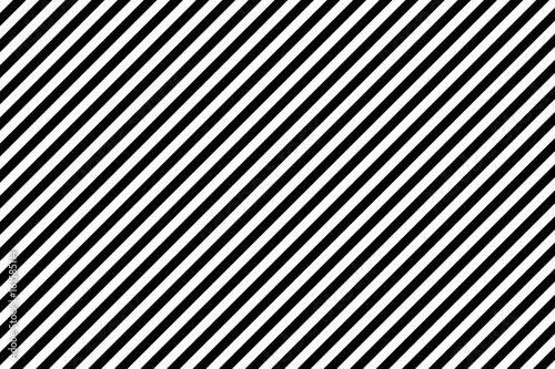Fototapeta Stripes diagonal pattern. White on black. Vector illustration.