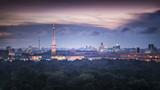 Berliner Skyline mit Fernsehturm und Funkturm