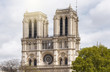 Notre-Dame de Paris in the evening in Paris