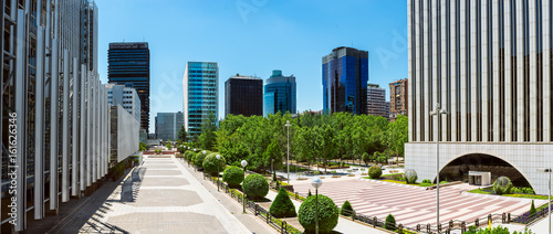 Panoramic view of Business park, Madrid