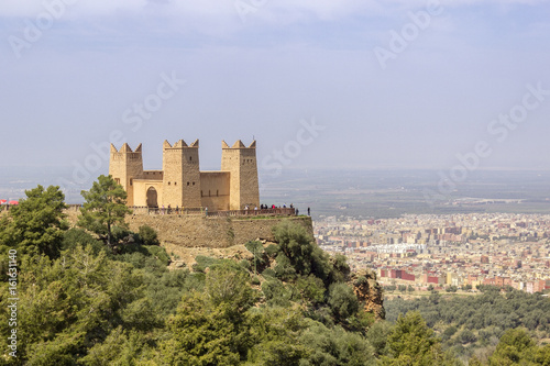 Fortress named Kasbah Ras el-Ain, in Asserdoun, province of Beni Mellal.