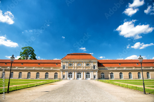 Charlottenburg palace and garden in Berlin