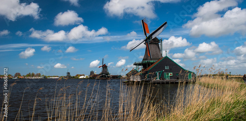 Plakat Windmill, Holland countryside