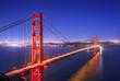 Quadro Golden Gate, San Francisco California at night
