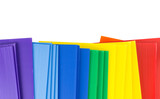 Top view of corrugated plastics - 161763563