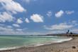 Benicarlo beach (Castellon, Spain).