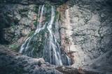 Гегский водопад в Абхазии.