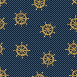 seamless pattern wheels and polka dot