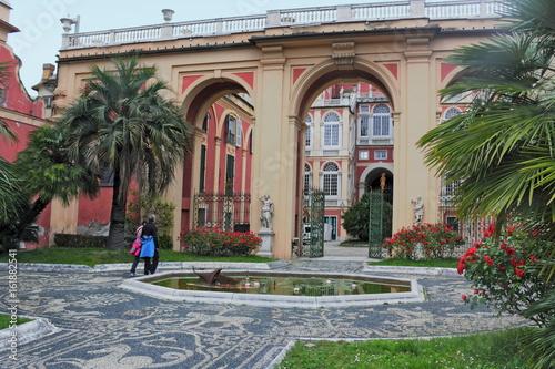 In de dag Liguria Genua, Palazzo Reale