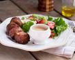 Falafel with salad - 161887736