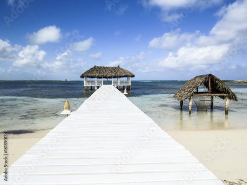 Paradise beach in Cayo Santa Maria, Cuba Poster