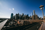 Downtown Manhattan viewed from Brooklyn Bridge