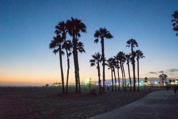 Santa Monica at Sunset