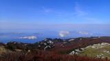 View from the mountain Velebit in Croatia