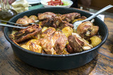 Traditional Croatian dish peka - 161951960