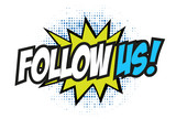 Fototapety Follow us