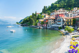 view on Varenna town at Lake Como, Italy - 161992786