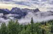 Fog at Molas Pass, San Juan Mountains, Colorado