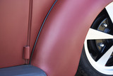 vintage restored low-rider car