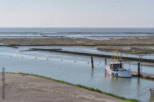 Kleiner Hafen in Nordfriesland