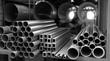 Metal Pipes in Storage