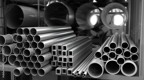 Metal Pipes in Storage