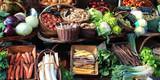 Vegetables market (Bourgogne - France) - 162035569