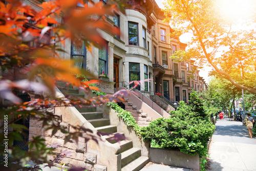 Brooklyn brown houses
