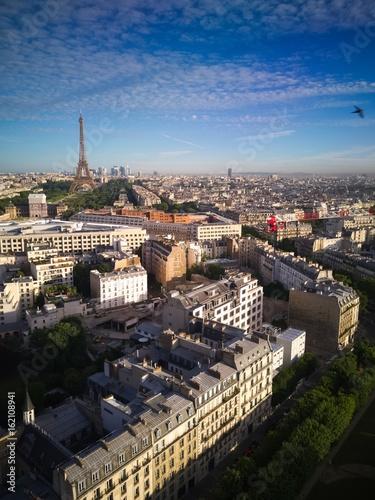 Paris Vue Aérienne 1 Poster