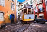 Tramwaj tramwajowy Alfama