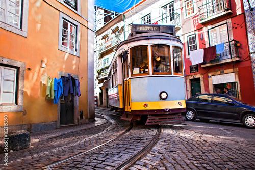 Alfama tramway Poster