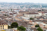 Aerial view of Popayan, Colombia - 162140725