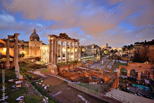 Poster Roman Forum, Rome