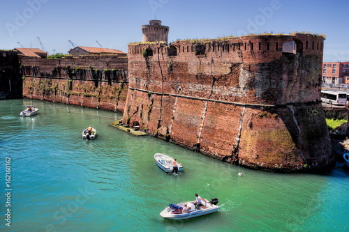 Deurstickers Toscane Livorno, Darsena Vecchia