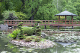 Japanese Garden, exotic plants, Wroclaw, Poland