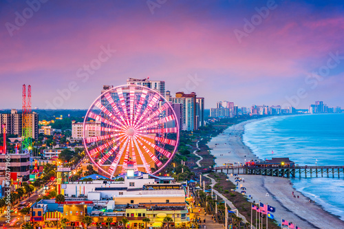 Myrtle Beach, South Carolina, USA Skyline