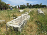 Ruins of an ancient city on the island of Kos, Greece - 162184935