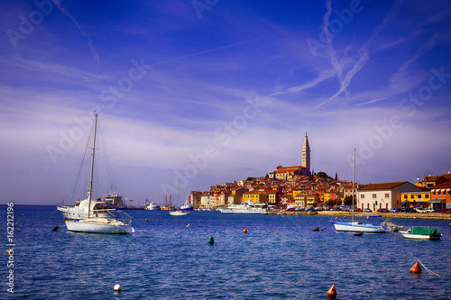 Rovinj, city on Adriatic sea coast in Istria, Croatia.