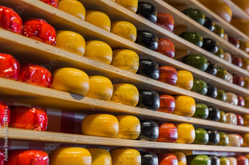 Cheese shop in Gouda Netherlands