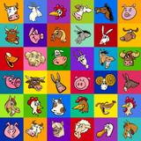 design with cartoon farm animals