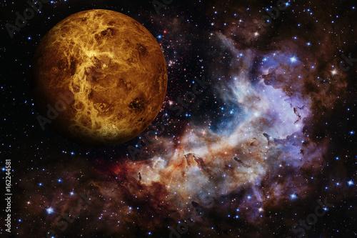 Aluminium Nasa Solar System - Venus. Elements of this image furnished by NASA.