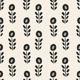 seamless flower pattern - 162245741