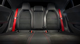 Part of  leather car seat details - 162247954