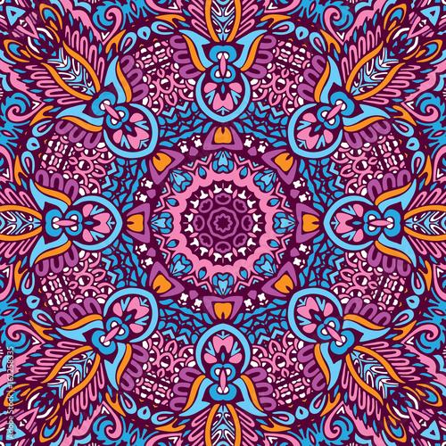 Cotton fabric Abstract geometric seamless pattern
