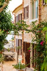 Traditional spanish finca house from Majorca