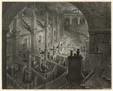 Over London by Rail. Date: 1870