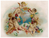 Cigar label  M Valle and Company. Date: circa 1885