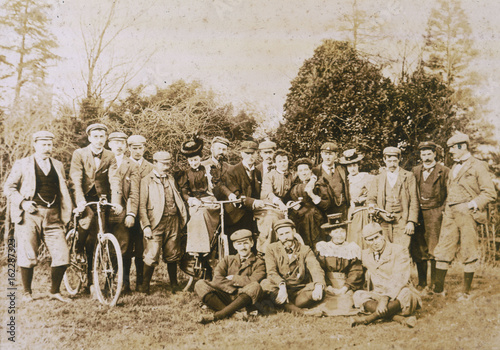 Wood Green Cycle Club. Date: circa 1890 Poster